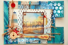 BE Happy Altered Envelope