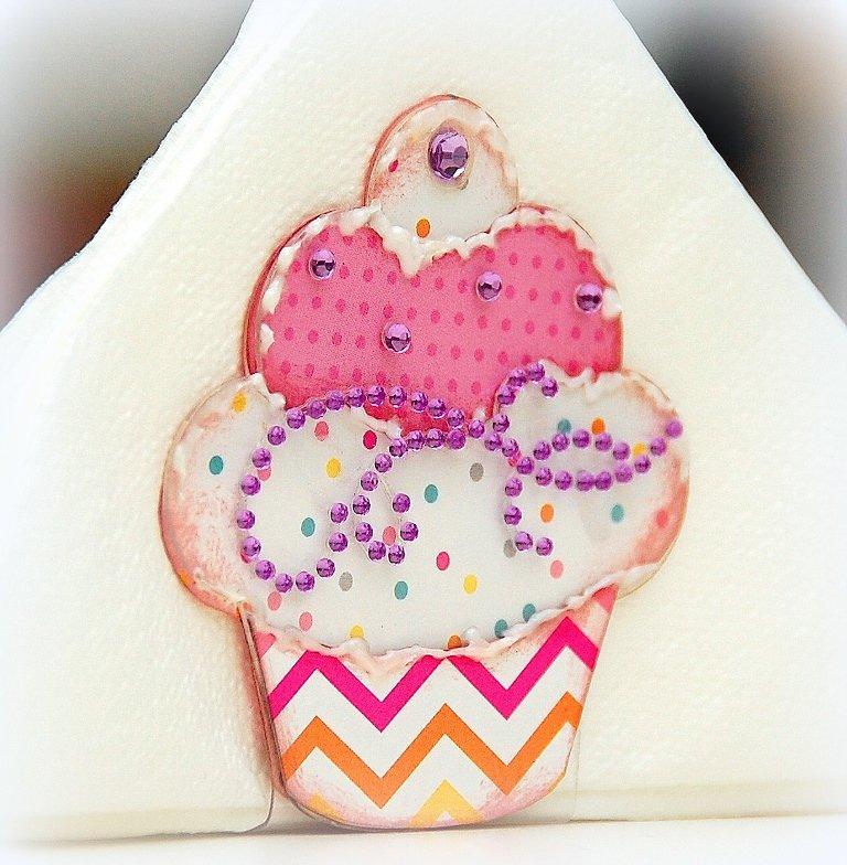 Acrylic Cupcake Serviette Holder