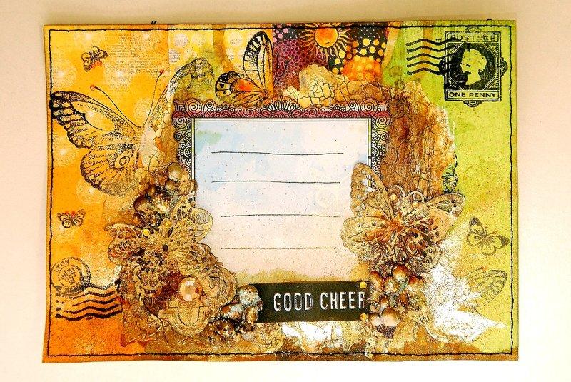 Good Cheer Mail Art