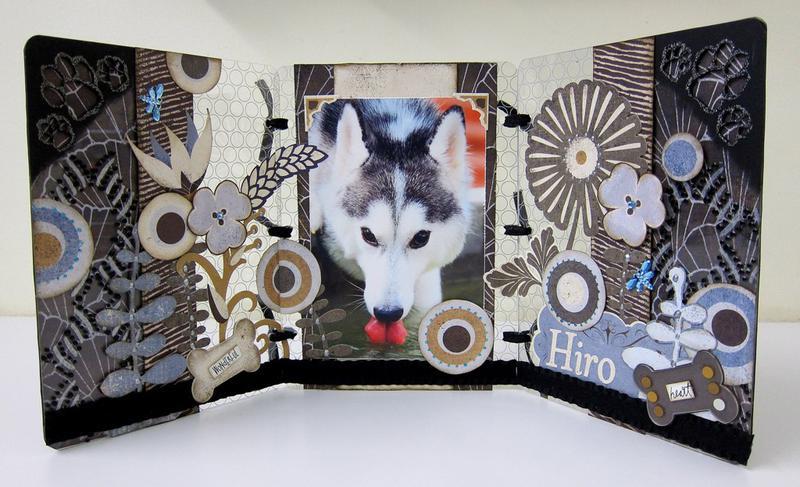 Hiro Altered Tri-Fold Frame