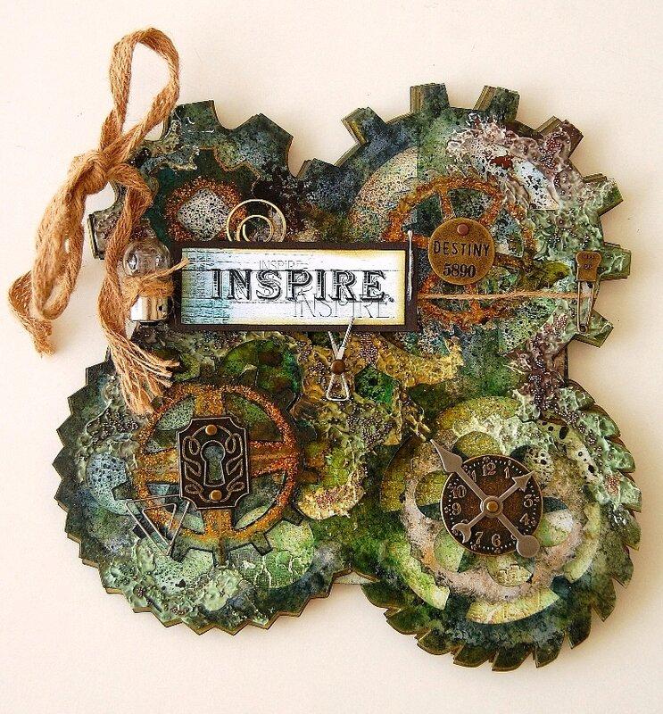 Inspire acrylic album