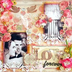 Love Forever Layout