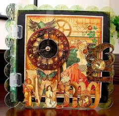 Memories Altered Acrylic Album