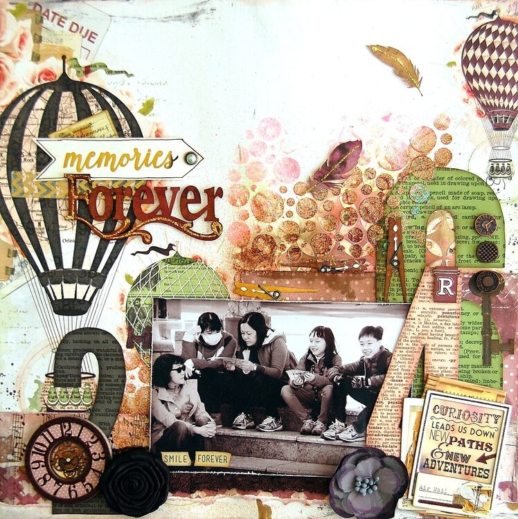 Memories Forever Layout