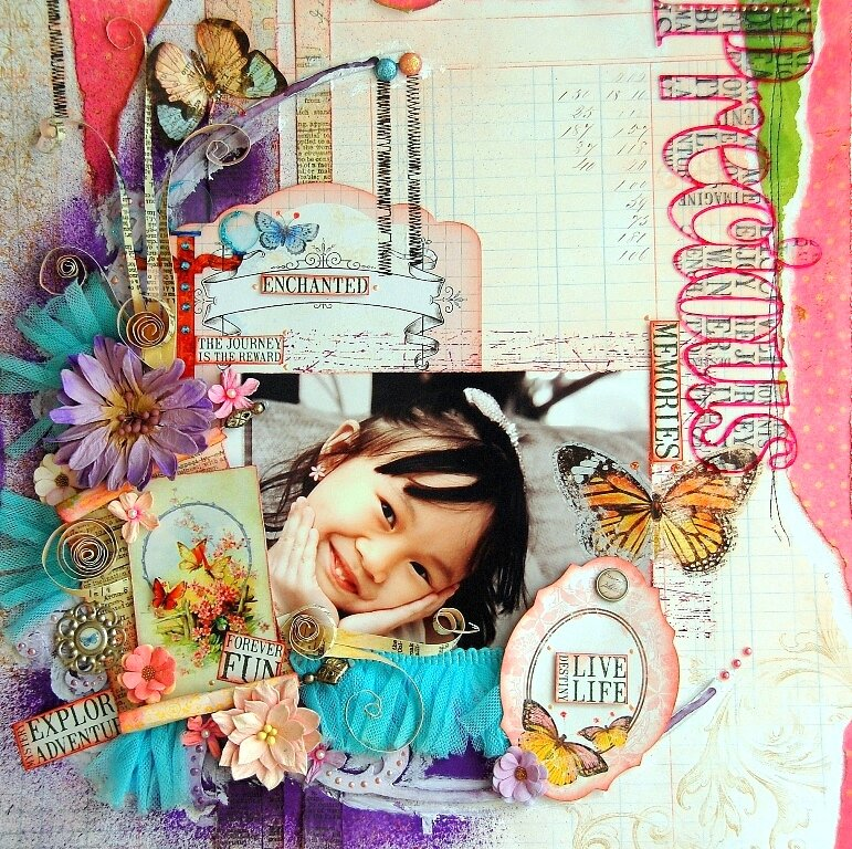 Precious Memories Layout