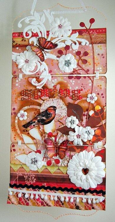 Spring Acrylic Wall Frame