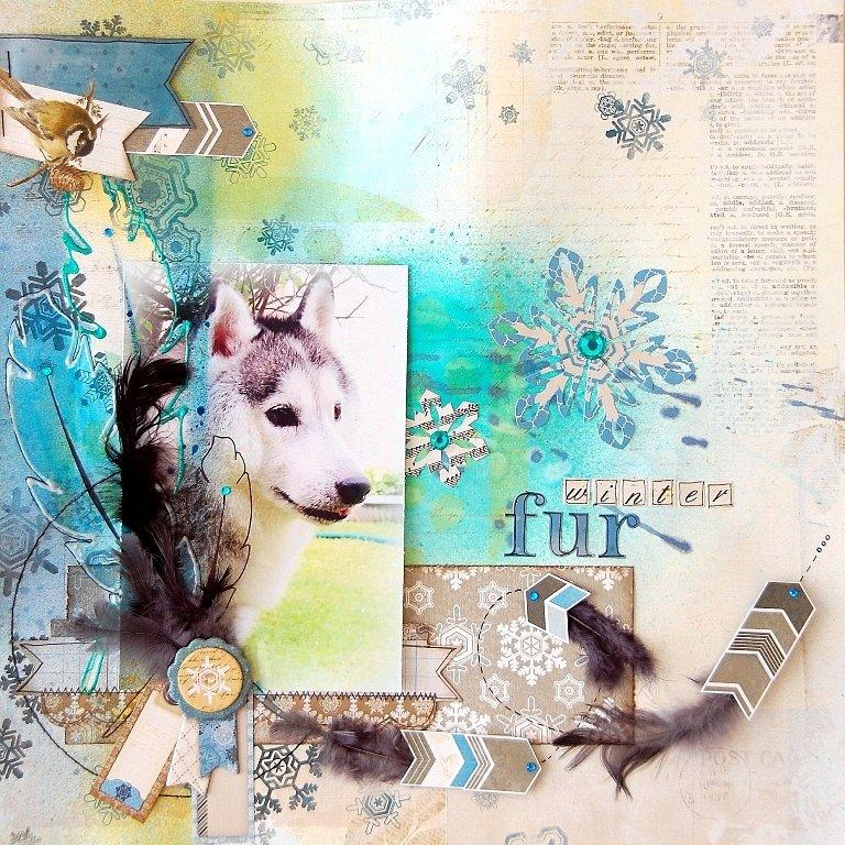 Winter Fur Layout