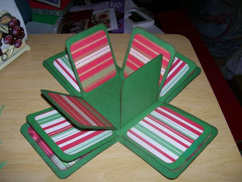 Christmas Exploding Box 2nd layer