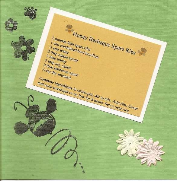4th of July Recipe Card Swap