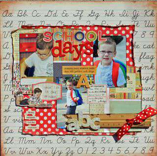 school days *Twisted Sketches Challenge Blog*