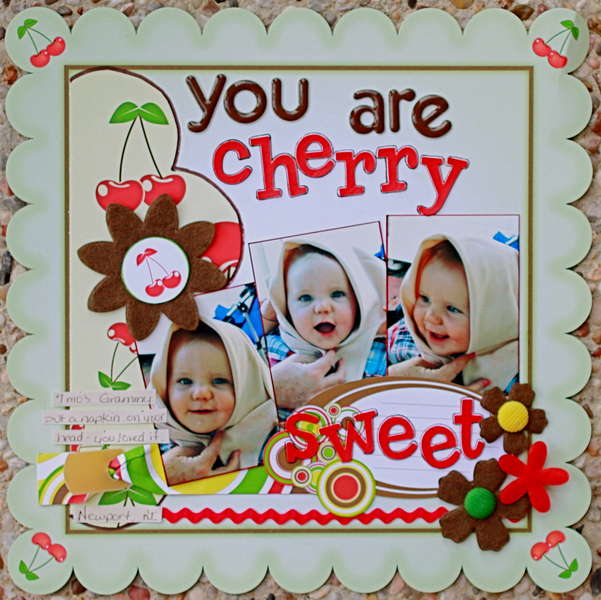You are cherry sweet **NIKKI SIVILS, SCRAPBOOKER**