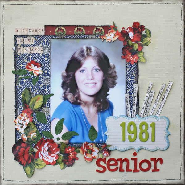 1981 Senior *Graphic 45 - Fashionista*