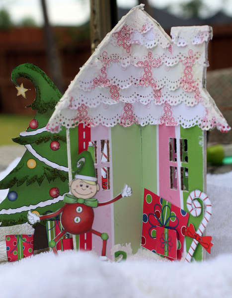 Altered house *Nikki Sivils - North Pole Nights*