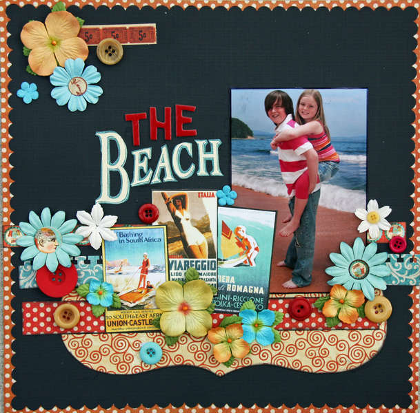 "The Beach **Graphic 45 ""On the Boardwalk""**"