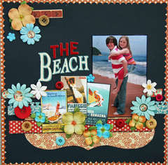 The Beach **Graphic 45