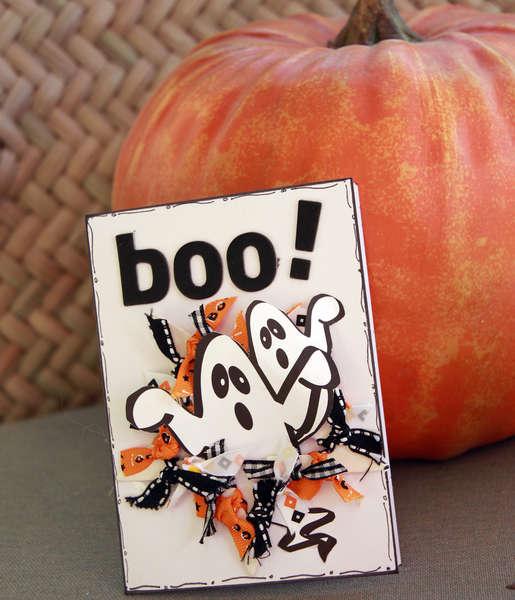 boo card **Nikki Sivils and Really Reasonable Ribbon**