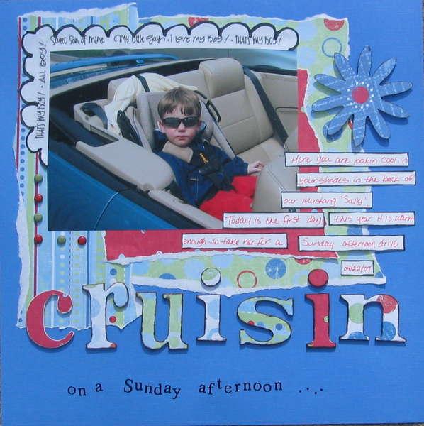 CRUISIN - ona Sunday afternoon