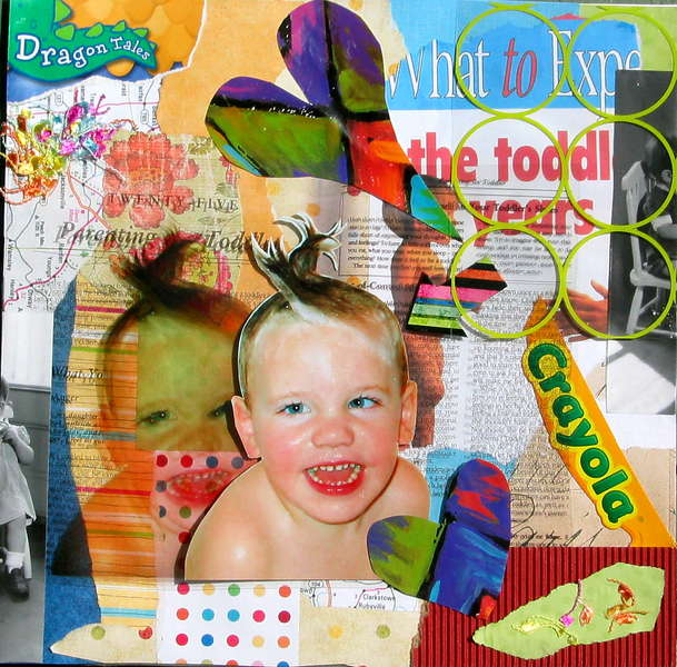Toddler collage (repost for a better gallery pic)