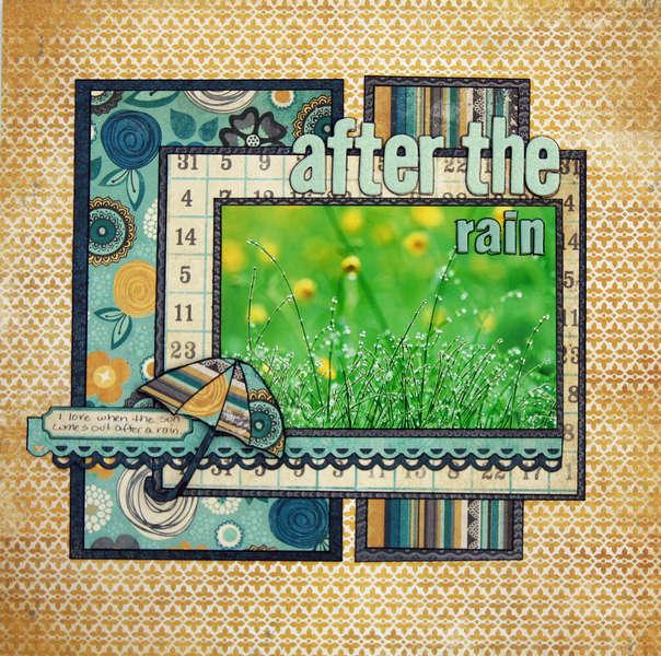 After the Rain {My Mind's Eye Challenge 22}