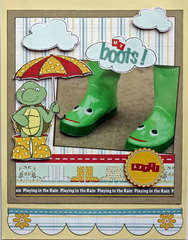 """my boots {Nikki Sivils """"It's Raining, It's Pouring"""" CHA Release}"""