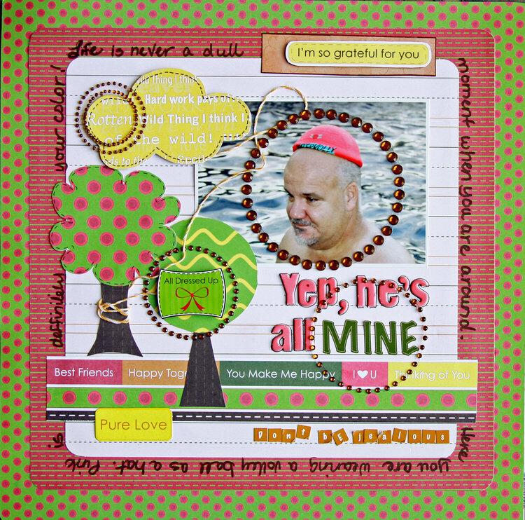 """Yep, he's all mine {Nikki Sivils """"Beatrice""""}"""