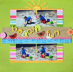 beach fun **My Little Shoebox**