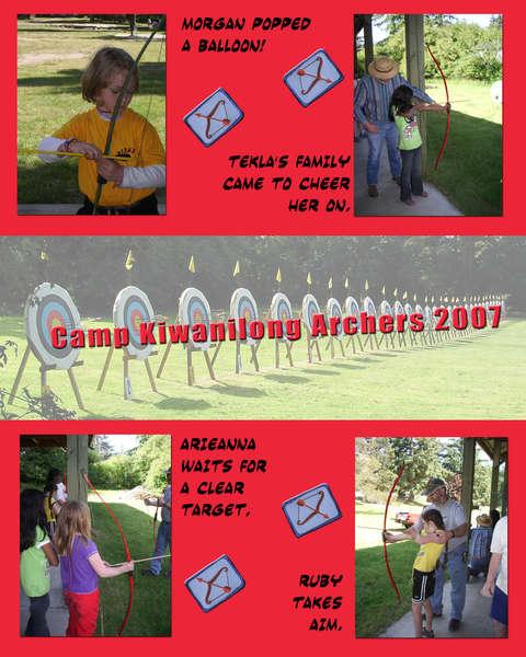 Girl Scout Archery.