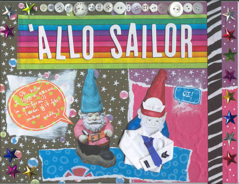 'Allo Sailor!
