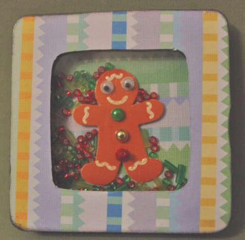 Gingerbread Boy Shaker
