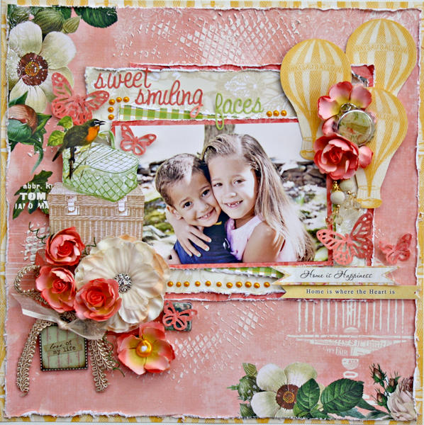 Sweet Smiling Faces *My Creative Scrapbook*