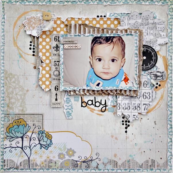 My Baby Boy *My Creative Scrapbook*