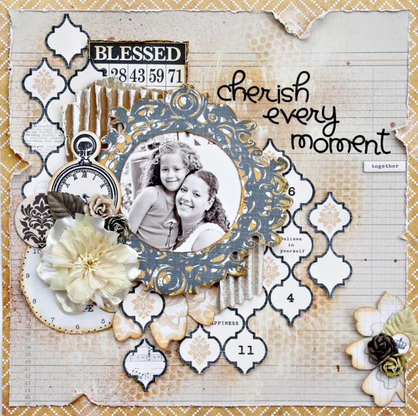 Cherish Every Moment *My Creative Scrapbook*
