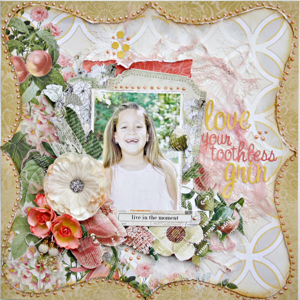 Love Your Toothless Grin *My Creative Scrapbook*