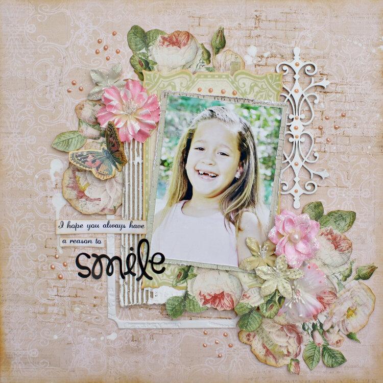 Smile *My Creative Scrapbook*