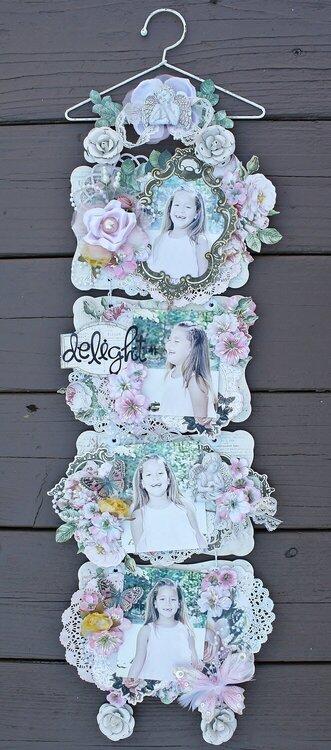 Delight Wall Hanging *My Creative Scrapbook*