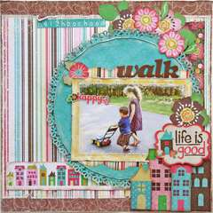 Neighborhood Walk ~My Creative Scrapbook~