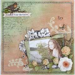 Expand Your Horizons ~My Creative Scrapbook~