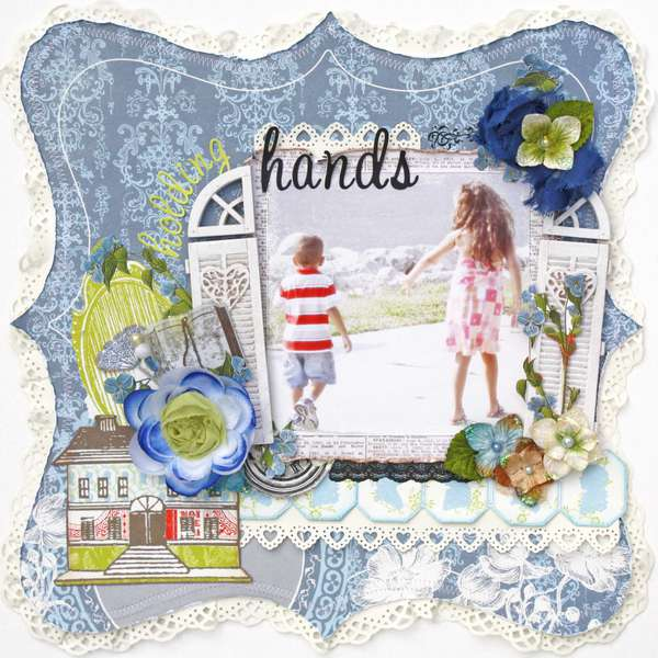 Holding Hands *My Creative Scrapbook*