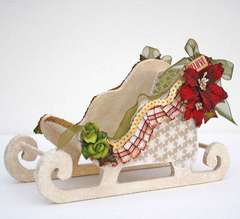 Altered Santa Sleigh *My Creative Scrapbook*