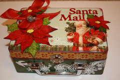 Santa Mail Keepsake Box