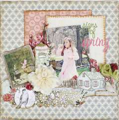 Signs of Spring *My Creative Scrapbook*