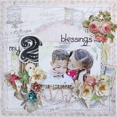 My 2 Blessings *My Creative Scrapbook*