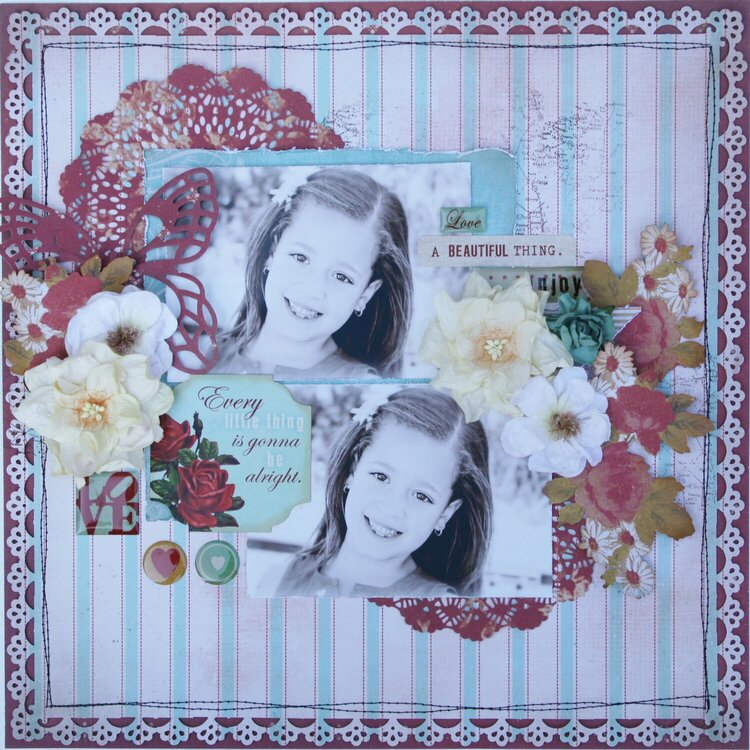Every Little Thing Is Gonna Be Alright ~Glitz Design~