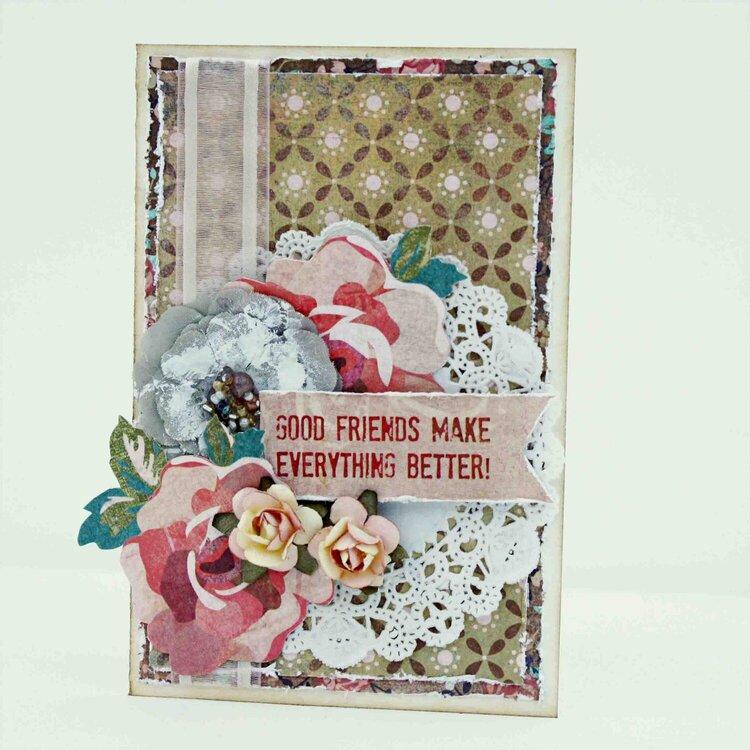 Good Friends Card ~My Creative Scrapbook~