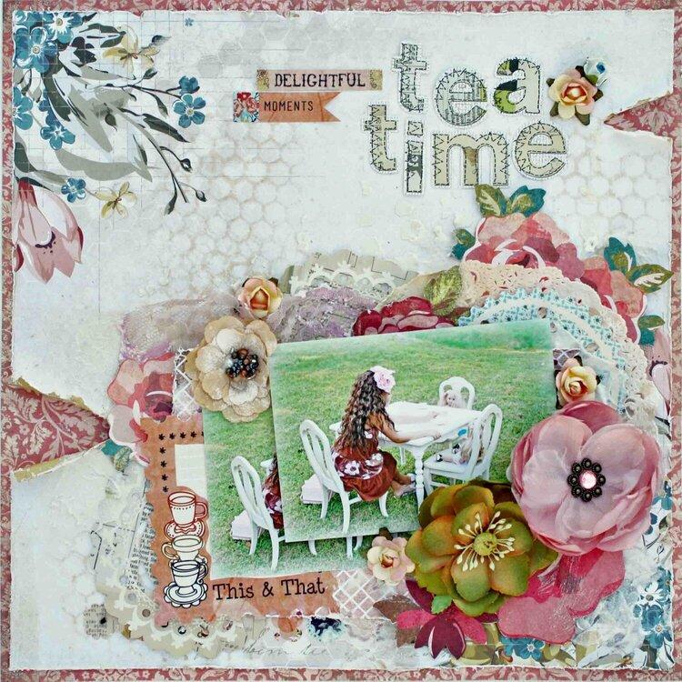 Tea Time ~My Creative Scrapbook~