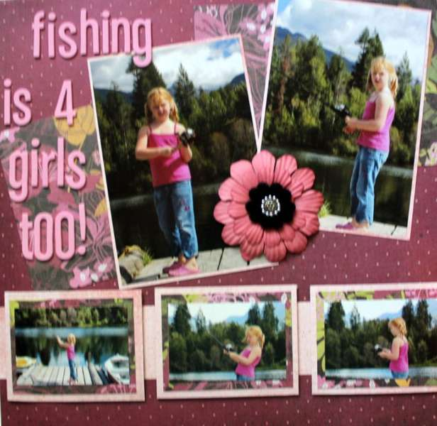 Fishing is for girls too!