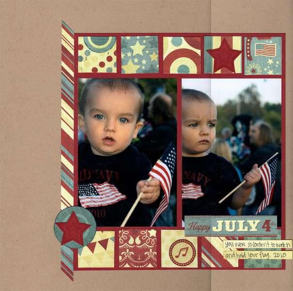 flag boy
