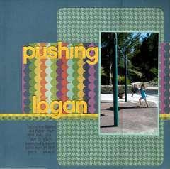 pushing logan