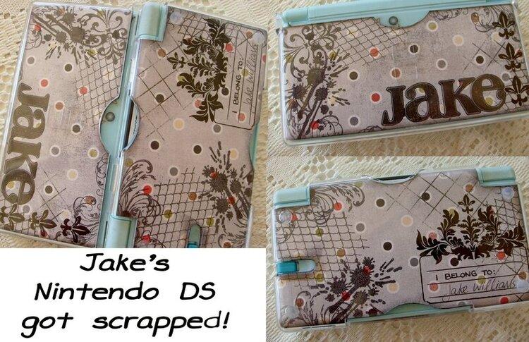 Jake's Nintendo DS got a makeover!