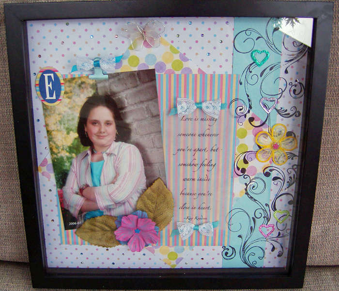 Mother's Day Shadow Box